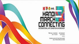 Workshop vẽ Gốm - Hanoi March Connecting 3